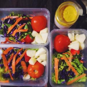 3 days to go with homemade mango salad dressing