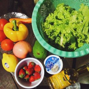 4 days of salad