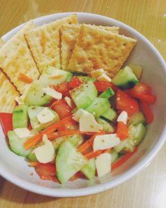 5 minutes Salad