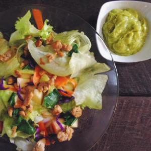 Homemade Avocado Salad Dressing