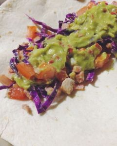 Maling Taco with Avocado Herb