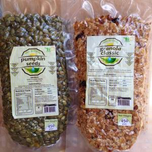 Pumpkin Seed + Granola