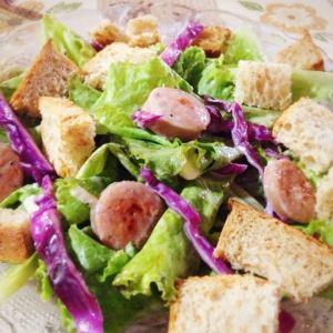 Sausage Home Salad