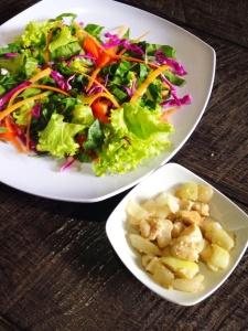 Mixed Salad with Sea Bass